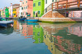 Free Burano Colorful Town In Italy Royalty Free Stock Photography - 19791357