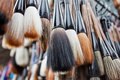 Free Collection Of Chinese Paintbrushes Royalty Free Stock Image - 19795766