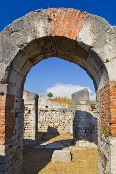 Free Ancient Amphitheater At Split, Croatia Stock Photo - 19790360