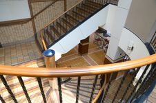 Free Interior Stairways Royalty Free Stock Photography - 19790527