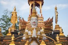 Free Statue Angle In Thai Temple Picture Stock Photos - 19791283