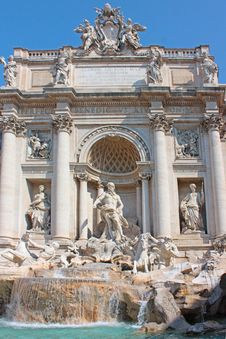 Free The Trevi Fountain Stock Image - 19791531