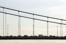 Free Fatih Sultan Mehmet Bridge, Istanbul Stock Photography - 19791562