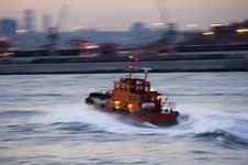 Free Turkish Tugboat, Istanbul Stock Photography - 19791632