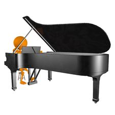 Free 3d Playing Piano Royalty Free Stock Photos - 19791968