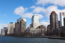 Free New York City Skyline Royalty Free Stock Image - 19792376