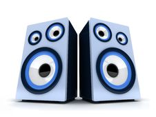 Free Acoustic Systems Royalty Free Stock Photography - 19792507