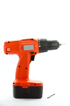 Free Cordless Drill Royalty Free Stock Images - 19793439