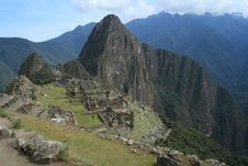 Free Machu Picchu, Peru Royalty Free Stock Photo - 19793605