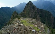 Free Machu Picchu, Peru Royalty Free Stock Photos - 19793668
