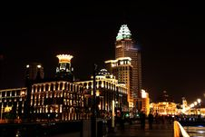 Free Night View In Shanghai Royalty Free Stock Photos - 19794478
