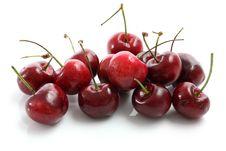 Free Cherries Isolated On White Background Stock Photo - 19795260