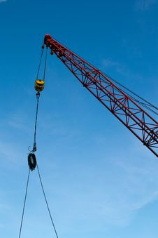 Free The Elevating Crane Royalty Free Stock Photos - 19795638