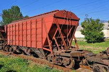 Free Red Wagon Stock Photos - 19795893