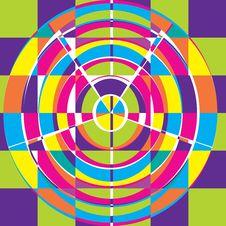 Crazy Circle Stock Image