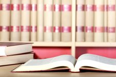 Free Books In The Library Royalty Free Stock Images - 19796249