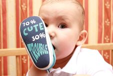 Free Baby Boy Stock Photography - 19796572