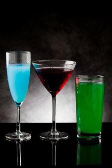 Free Cocktails Stock Photography - 19797632