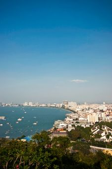 Free Pattaya Bay Royalty Free Stock Photography - 19797867