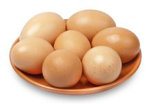 Free Brown Chicken Eggs Royalty Free Stock Image - 19798526