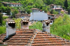 Free Chimneys And Tiled Roofs Royalty Free Stock Image - 19798836