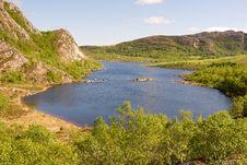 Free Norwegian Lake Royalty Free Stock Photo - 19798845