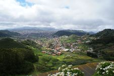 Free View On Valley Las Mercedes Royalty Free Stock Image - 19798936