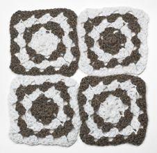 Knitted Monochrome Pattern