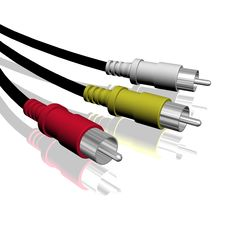 Free HDTV Cable Stock Photography - 19799352