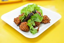Spicy Fried Pork Ball