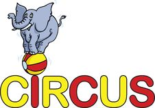 Free Circus Word Stock Images - 19799494