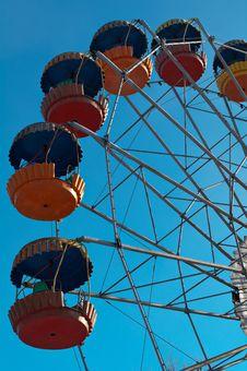 Old Ferris Wheel Stock Images