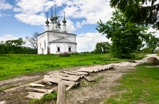 Free Traditional Russian Church In Ancient Town Suzdal. Stock Photography - 19799952