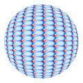 Free Sphere From Components Of Dark Blue And Red Color Stock Photography - 1982272