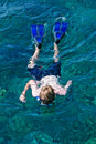 Free Snorkelling In The Ocean Water Stock Images - 1983654