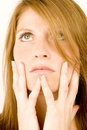 Free Woman Deep In Thought Royalty Free Stock Image - 1986316