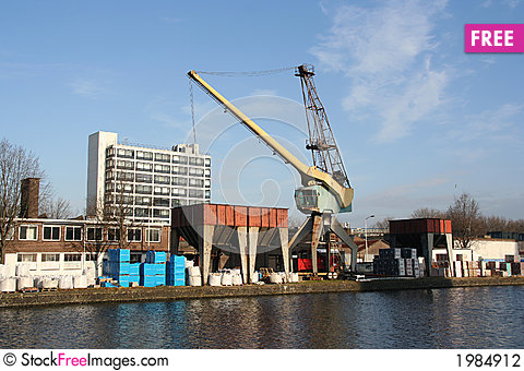 Free Loader Crane Stock Photography - 1984912