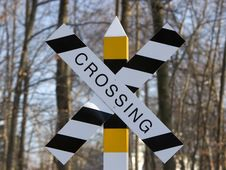 Crossing Sign Stock Photos