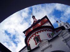 Savvino-storojevsky Monastery Royalty Free Stock Image