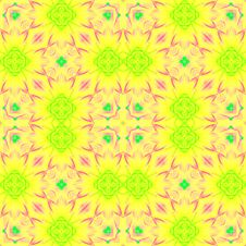 Free Flower Seamless Pattern (11) Royalty Free Stock Images - 1981399