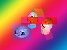 Stock Illustration Of Easter Eggs Stock Image