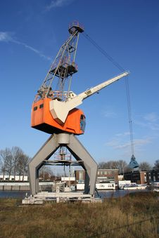 Loading Crane Stock Image