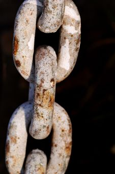 Free Old Rusty Chain Stock Photography - 1985962