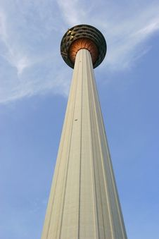 Free Tv Tower (looking Up) Royalty Free Stock Image - 1986176