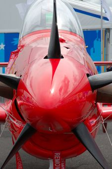 Free Red Plane Royalty Free Stock Photo - 1986185