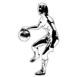 Free Basketball Player Illustration Royalty Free Stock Images - 1986349