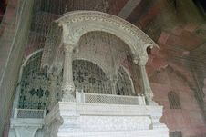 The Emperor S Seat, India Royalty Free Stock Photography
