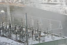 Free Dam Power Plant Stock Photography - 1989232