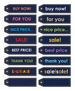 Free Various Color Stickers Stock Photo - 19802500