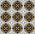 Free Pattern With Flower Seamless Texture Royalty Free Stock Images - 19803139